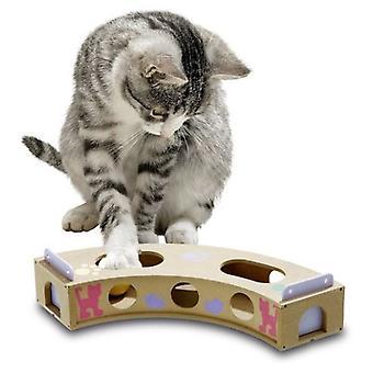 Karlie Flamingo SMART CAT CURVE 6 X 10 X 42 CM Juguete PARA inteligencia del Gato