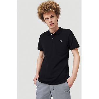 O'Neill Men's Polo Shirt á Pique Polo negro