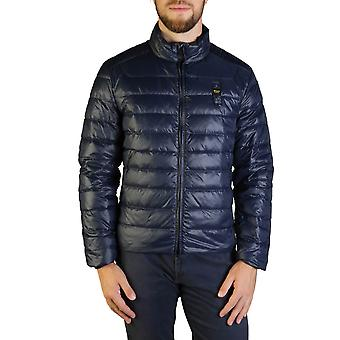 Blauer Original Men Fall/Winter Jacket - Blue Color 35673