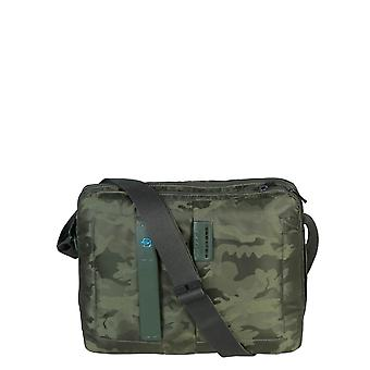 Piquadro Original Men All Year Briefcase - Green Color 30598