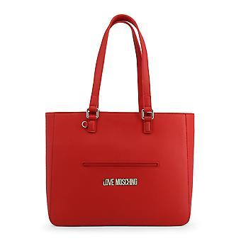 Love Moschino Original Women Spring/Summer Shoulder Bag Red Color - 71127