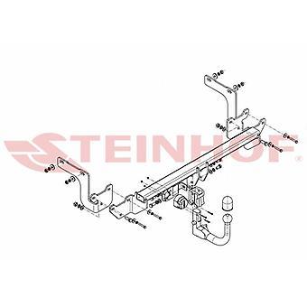 Steinhof Automatik abnehmbare Abschleppstange (Vertikal) für Citroen C4 Picasso 2013-2018