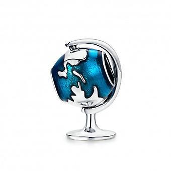 Sterling Sølv Charm Globe - 5610