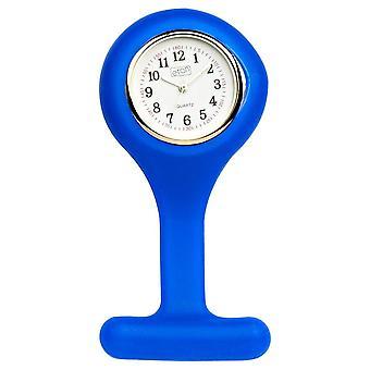 Eton Blue FOB Nurses Watch, Silicon Enclosed, Wipeable 2954L-BL