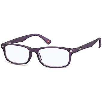 Reading glasses blue light filter purple thickness +0.00 (blfbox83d)