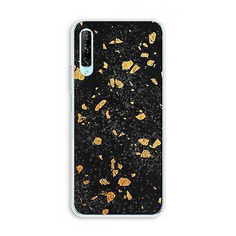 Huawei P Smart Pro Transparent Case (Soft) - Terrazzo N°7