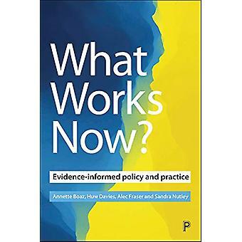 Qu'est-ce qui fonctionne maintenant? - Politique et pratique fondées sur des données probantes par Annette Boa