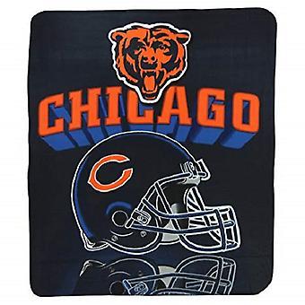 "Chicago Bears NFL Northwest ""Mirror"" Fleece Throw"