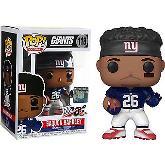 NFL Giants Saquon Barkley Pop! Vinyl