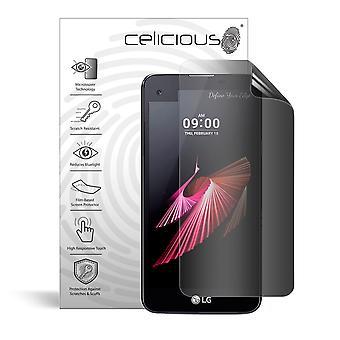 Celicious Privacy 2-Way Anti-Spy Filter Screen Protector Film Compatible with LG X Screen