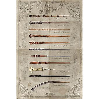 Harry Potter, Maxi Poster - Wands