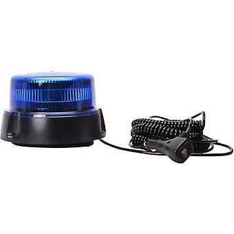 WAS Emergency light W112 853.2 12 V, 24 V via in-car outlet Suction cup, Screw mount, Magnetic fastening Blue