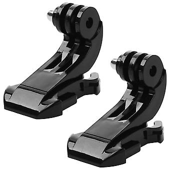 2x Quick Release J Mounts for GoPro Hero 4, 3+, 3, 2, 1