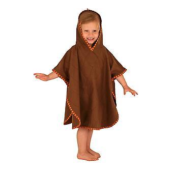 LittleLife Childrens Dinosaur Poncho Handdoek Medium Snel drogen UPF 50+