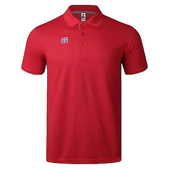Mooto cool keramische Polo shirt rood