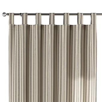 Schlaufenschal, grau-ecru , 130 × 260 cm, Quadro, 136-12