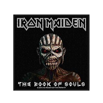 Iron Maiden Patch Book of Souls Album Official New Black Woven (10cm x 10.5cm)