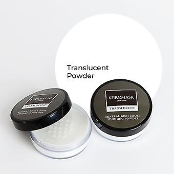 Keromask Translucent Mineral Rich Finishing Powder | Helps Covers Vitiligo, Rosacea, Scars, Tattoos | 20g