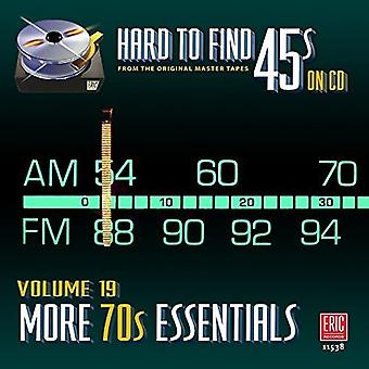 Various Artist - Hard to Find 45S on CD 19 - More 70's [CD] USA import