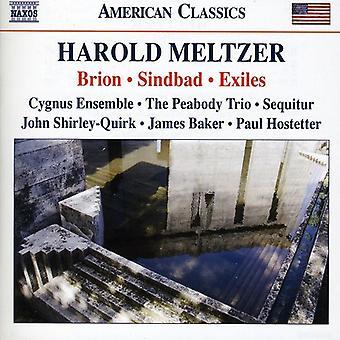 H. Meltzer - Harold Meltzer: Brion; Sindbad; Exiles [CD] USA import