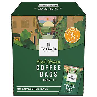 Taylors Of Harrogate Rich Italian Enveloped Coffee Bags