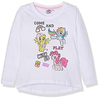 My little pony girls long sleeve t-shirt white