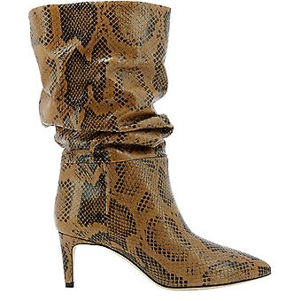 Paris Texas Px511xpmbbcognac Women's Brown Leather Ankle Boots