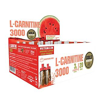 L Carnitine (saveur pastèque) 20 fioles de 3000mg