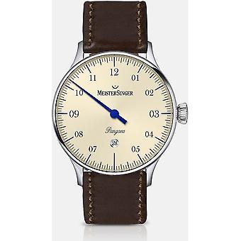 MeisterSinger - Montre-bracelet - Hommes - Automatique - Pangaea Date PMD903_SCF02