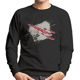 Thunderbirds 3 Space Rocket Grafiska Män & apos; s sweatshirt