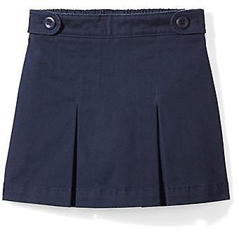 Essentials Little Girls' Uniform Skort, Navy Blazer, XS (4-5)
