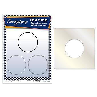 Basiscirkel voor helderheidstamp en Vrienden Stempel, Stencil &; Maskerset