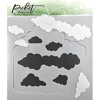 Plantillas de Picket Fence Studios Layers of Clouds
