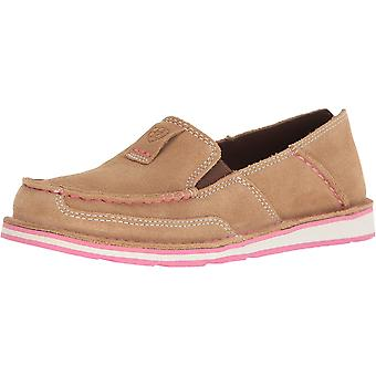 Ariat Women's Cruiser Slip-on Shoe, Dirty Taupe Suede, 11 B US