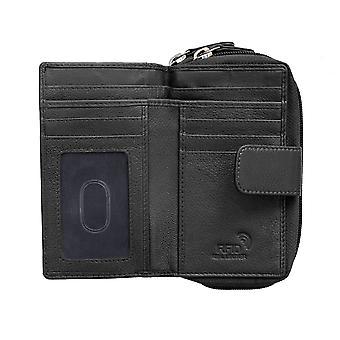 Primehide große Frauen Geldbörse RFID Blockierung Leder Brieftasche Damen 22888