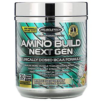 Muscletech, Amino Build Next Gen, White Raspberry, 9.98 oz (283 g)