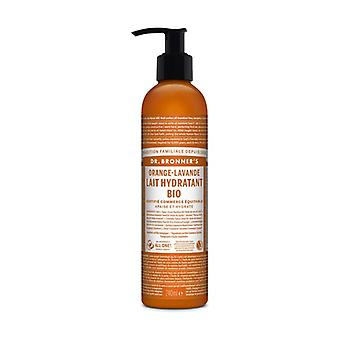 Orange moisturizing milk (Lait Hydratant orange) 240 ml