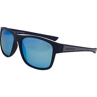 Sunglasses Unisex Sport Polarizes Black/Blue (56:26 P1)