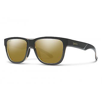 Sonnenbrille Unisex Lowdown Slim 2  dunkelgrau/bronze