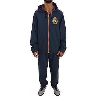 Blue Cotton Sweater Pants Tracksuit BIL1052-1