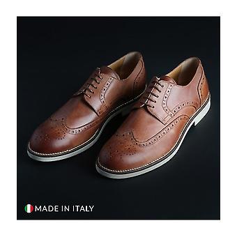 Madrid - Schuhe - Schnürschuhe - 606_CERATO_MARRONE - Herren - saddlebrown - EU 42