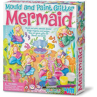 Great Gizmos moule et Mermaid Glitter Paint