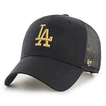 47 Brand Trucker Cap - BRANSON Metallic Los Angeles Dodgers