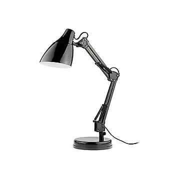 Faro Gru - 1 Light Desk Lamp Sort, E27