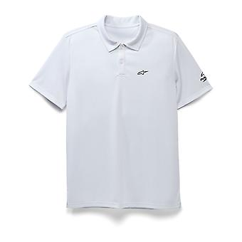 Alpinestars Scenario Performance Polo Shirt in White