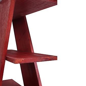 Rebecca Möbel Schreibtisch Tür Pc Schreiben weiß weiß modern Rot 74x140x60
