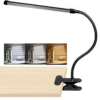 360 Degree Flexible, Goose Neck Design-led Clip On Desk Lamp