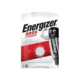 Energizer CR2025 Coin Lithium Battery Single ENGCR2025