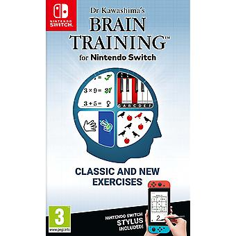 Dr Kawashima's Brain Training Nintendo Switch Game