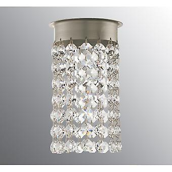 Ifo Electric Crystal Chandelier For Opus 120 Beads Brilliant Cut